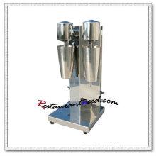 K923 Agitateur de lait en acier inoxydable sur comptoir à double tête