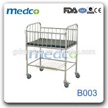 Boa qualidade de segurança Equipamentos para hospitais Cama de enfermagem infantil à venda B003