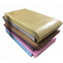 Press Cut Cutting  plotter Colorful Glitter Heat Transfer Vinyl Film sheets for Fabric