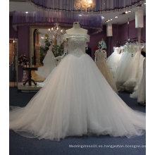 Vestido de novia con cristal / Rhinestones