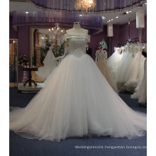 Wedding Dress with Crystal/Rhinestones