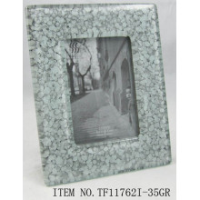 Transparent Fused Glass Photo Frame