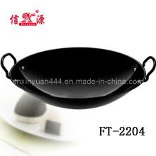 43cm Black Enamel Wok (FT-2204)