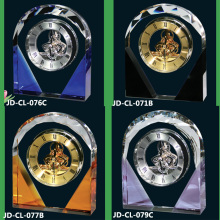 Roman Modern Mixed Colour Crystal Clock Gifts