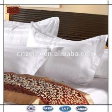 Haute qualité de caisse d'oreiller 100% coté en coton 100% coté en rayure
