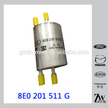 Filtre à essence à barres 4 pièces originales pour AUDI A4 8E0201511G, 8E0 201 511 G