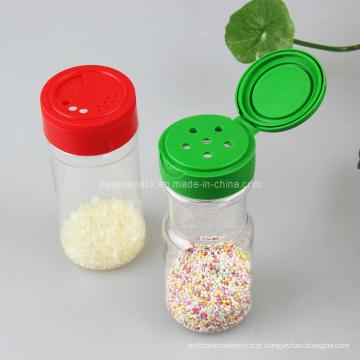 Frasco da especiaria da cozinha com tampão do parafuso (PPC-PSB-04)