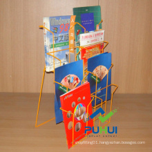 Counter Top Metal Wire Leaflet Holder (PHC322)