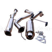 Cat Back /Exhaust System for Full Section Civil 92-95 3 Door HB Fireball Style