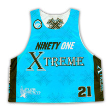 Light Weight Lacrosse Pinnies Full Sublimation/High Quality Lacrosse Sublimated Jerseys