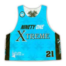 Light Lacrosse Pinnies Full Sublimação / Alta Qualidade Lacrosse Sublimated Jerseys