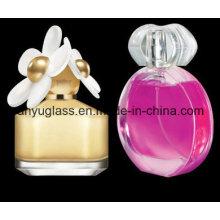 Botella de vidrio de perfume con bomba 30ml, 50ml