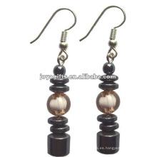 Pendiente de perlas de perlas de hematites de moda