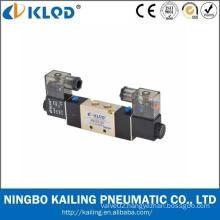 4V220-06 5/2 way Normally closed DC24v pneumatic solenoid control valve