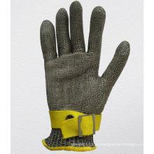 Edelstahl-Metallgewebe-Schnitt-beständiger Handschuh-2350