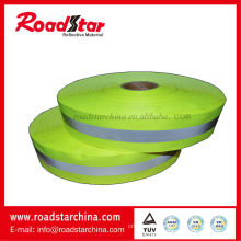 High visibility oxford reflective warning tape