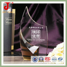 2016 Hot Sell Crystal Glass Award Trophy of High Quality