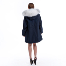 Nerz Pelzkragen Pike Coat