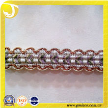 100%Rayon gimp fringe trim for curtain,trimming of curtain accessories