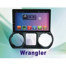 Android System 5.1 Car DVD Player para Wrangler Touch Screen com Navegação e GPS