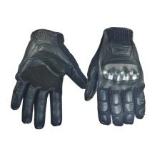 100% guantes de tacos de cuero genuino / guantes de motocross (4220012)