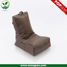 Brown single sofa chair, water repellent micro beanbag/bean bags
