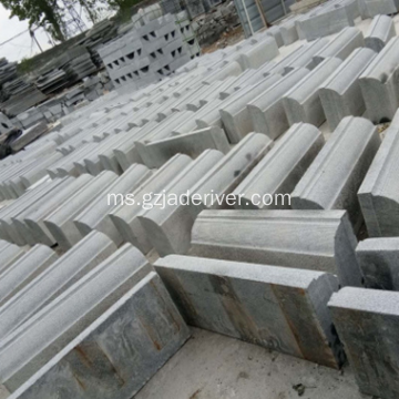 Natural Granite Road Side Shaped Stone Sempadan Hiasan
