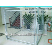 Hot dip zinc dog kennels sale