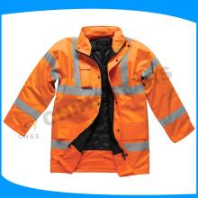 OEM o ODM chaqueta reflectante naranja hi-vis