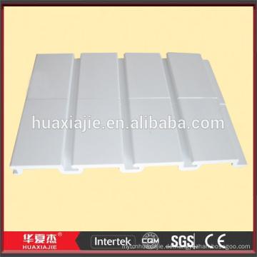 PVC dekorative Slatwall für Kellerwand mit großer Ladekapazität