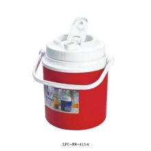 Caixa de refrigerador de gelo com isolamento de plástico