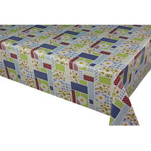 Pvc Printed fitted table covers Table Linens Black