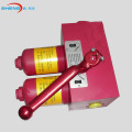 Duplex lube oil pressure filter housing assembly