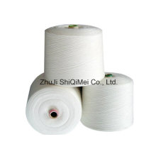 Factory Supplier Wholesales 100% Polyester Ring Spun Yarn for Knitting and Weaving