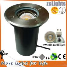 IP67 Открытый свет из нержавеющей стали 5W светодиодный грунт (GL05R-5W)