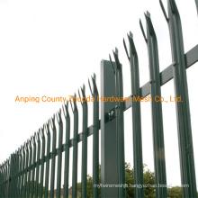 China Supply Amazon Ebay Hot Galvanized Palisade Fencing Prices