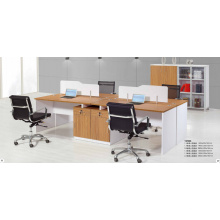 2.8m reinforce modish brightness aluminium office workstation