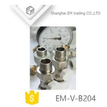 EM-V-B204 Vanne de radiateur thermostatique en laiton Manul Nickel