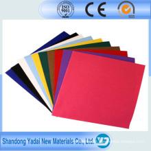 Tapete vermelho não tecido da exposição do polipropileno / Carpt Wedding