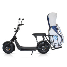 Nice quality 2000w two wheel citycoco electric scooter with golf bag rack