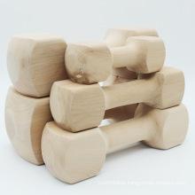 Pet toy dog chew gum clean teeth bone bite molar rod Teddy Golden Retriever Husky solid wood bone dumbbell