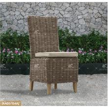COLECCIÓN de ALAND - Rattan de mimbre de la vanguardia de 2017 ULTRAVIOLETA caliente de la vanguardia que cena la tabla determinada y 4 sillas sin brazo Muebles de jardín al aire libre
