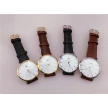 Reloj de cuarzo directo del reloj del acero inoxidable del precio de fábrica Dw Watch (DC-1011)