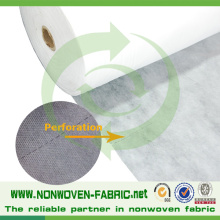 Rodillo de tela no tejida perforada para colchón