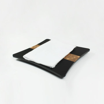 APEX Luxury Black Hotel Service Handtuchablage