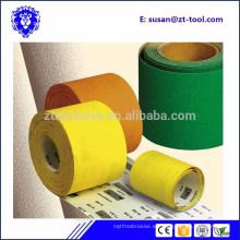 rollo de papel de lija abrasivo / rollo de papel de arena