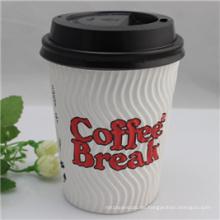 Einweg-Single-Wall Paper Kaffeetassen