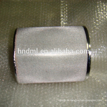 Filtre en treillis métallique fritté à cinq couches de 100 microns