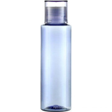 PET-Dickwand 120ml klare Flasche mit PP-Schraubverschluss