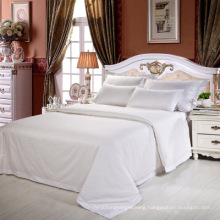 New Collection Bed Modern Style Bed Plain White Hotel/Home Bedding Linen (WS-2016231)
